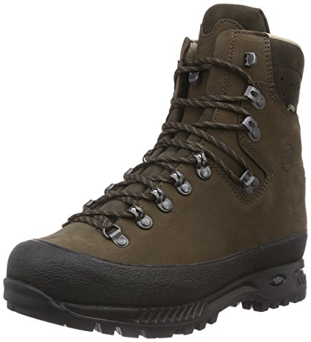 Hanwag Alaska GTX, Herren Trekking- & Wanderstiefel, Braun (Erde), 44.5 EU (10 Herren UK)
