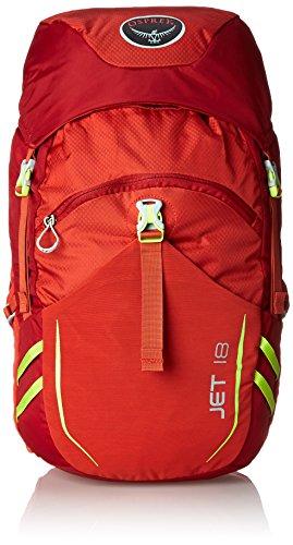 Osprey Jet Backpack For Child, Strawberry Red, 51 x 26 x 22 cm, 18 Liter