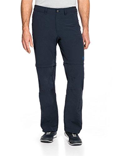 Jack Wolfskin Herren Canyon Zip Off Pants Hose, Night Blue, 52