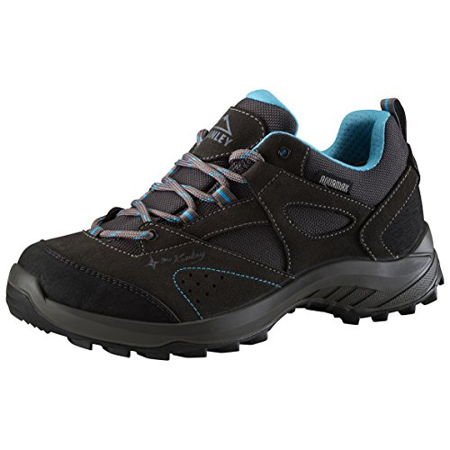 McKINLEY Damen- AQUAMAX® Trekkingschuhe Travel Comfort, grey dark/turquoise,38