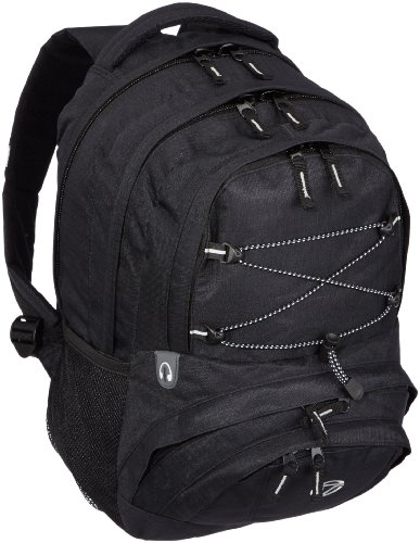 Travelite Basics Multifunktionsrucksack, schwarz, 35x42x22 cm, 96286
