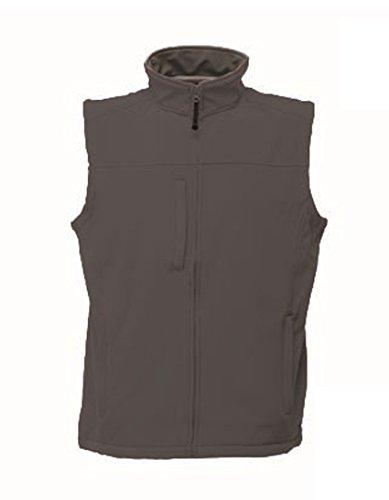 Regatta Herren Flux Softshell-Bodywarmer / Softshell-Weste, ärmellos, wasserabweisend 3XL,Grau/Grau
