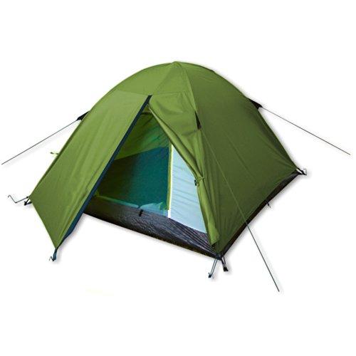 outdoorer Zelt Festival Camp – das Campingzelt, grün, wasserdicht, für 2-3 Personen
