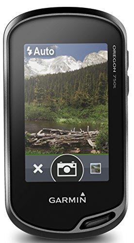 Garmin Oregon 750 GPS-Handgerät – mit Autofokus-Kamera, wiederaufladbarem Akku-Pack, Aktivitätsprofilen, Geocaching Live