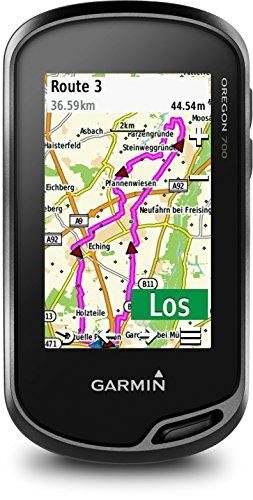 Garmin Oregon 700 GPS-Handgerät – integriertes WLAN, Aktivitätsprofile, Geocaching Live