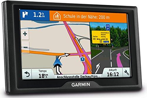 Garmin Drive 60 LMT CE Navigationsgerät – lebenslange Kartenupdates, Premium Verkehrsfunklizenz, 6 Zoll (15,2 cm) Touchdisplay