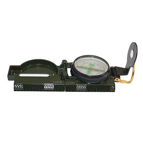PRECORN Wanderkompass Peil & Marschkompass Taschenkompass Metall Bundeswehr Kompass Militär Marke