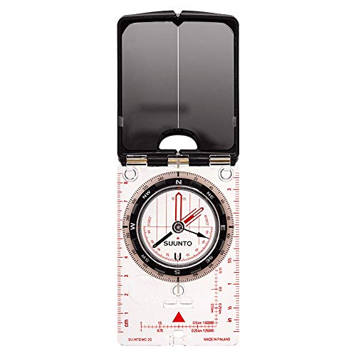 Suunto Kompass MC-2 G MIRROR COMPASS, weiß, One size