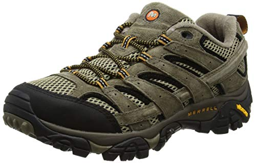 Merrell Herren Moab 2 Vent Trekking und Wanderhalbschuhe, Braun (Pecan), 43 EU