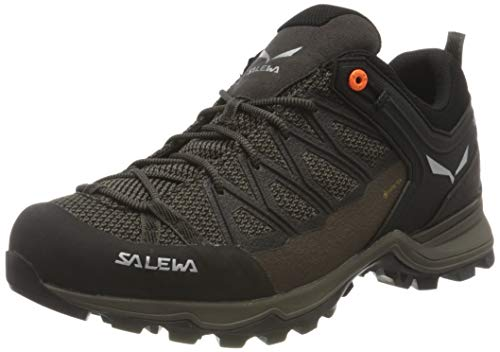 Salewa Herren MS Mountain Trainer Lite Gore-TEX Trekking-& Wanderstiefel, Wallnut/Fluo Orange, 42.5 EU