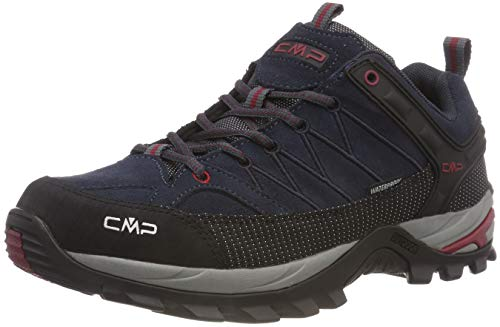 CMP Herren Rigel Low Shoes Wp Trekking- & Wanderhalbschuhe, Grau (Asphalt-Syrah 62bn), 45 EU