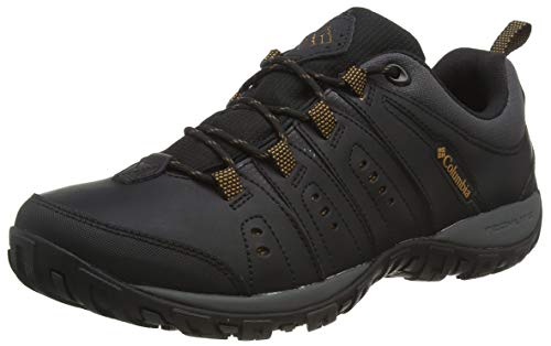 Columbia Herren Woodburn Multisport-Schuh, Black, 42 EU