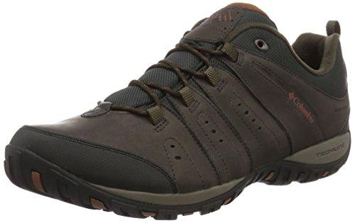 Columbia Herren Woodburn Li' Scarpe da Nordic Walking, Braun Braun Cordovan Cinnamon, 44 EU