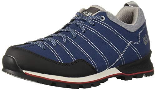 Jack Wolfskin Herren Scrambler Low M Walking-Schuh, Blue/Black, 42 EU