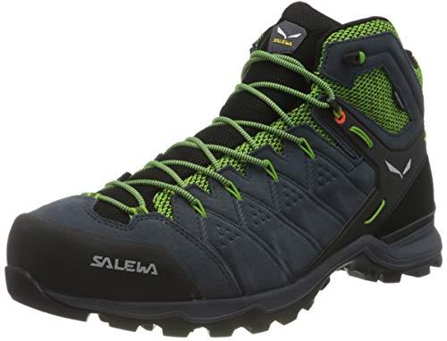 Salewa Herren MS Alp Mate Mid WP Trekking-& Wanderstiefel, Ombre Blue/Pale Frog, 44 EU